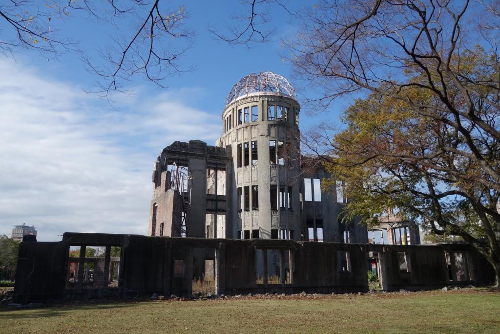 広島の世界遺産、原爆ドーム