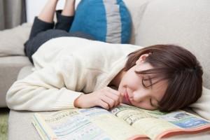 求人雑誌見ながら寝たから明日もニート確定