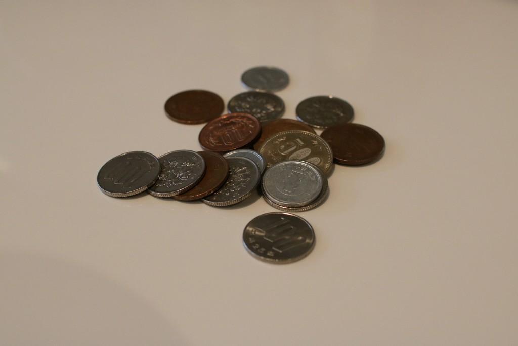 ちりも積もれば山となる銭