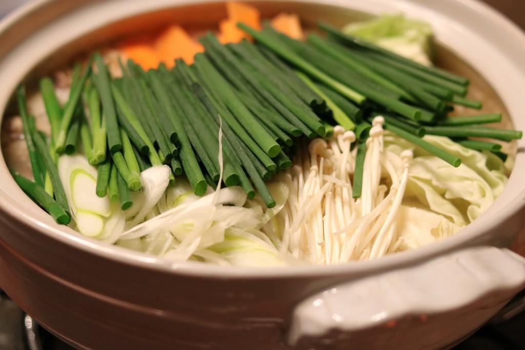 寒い時期は鍋で野菜を摂取