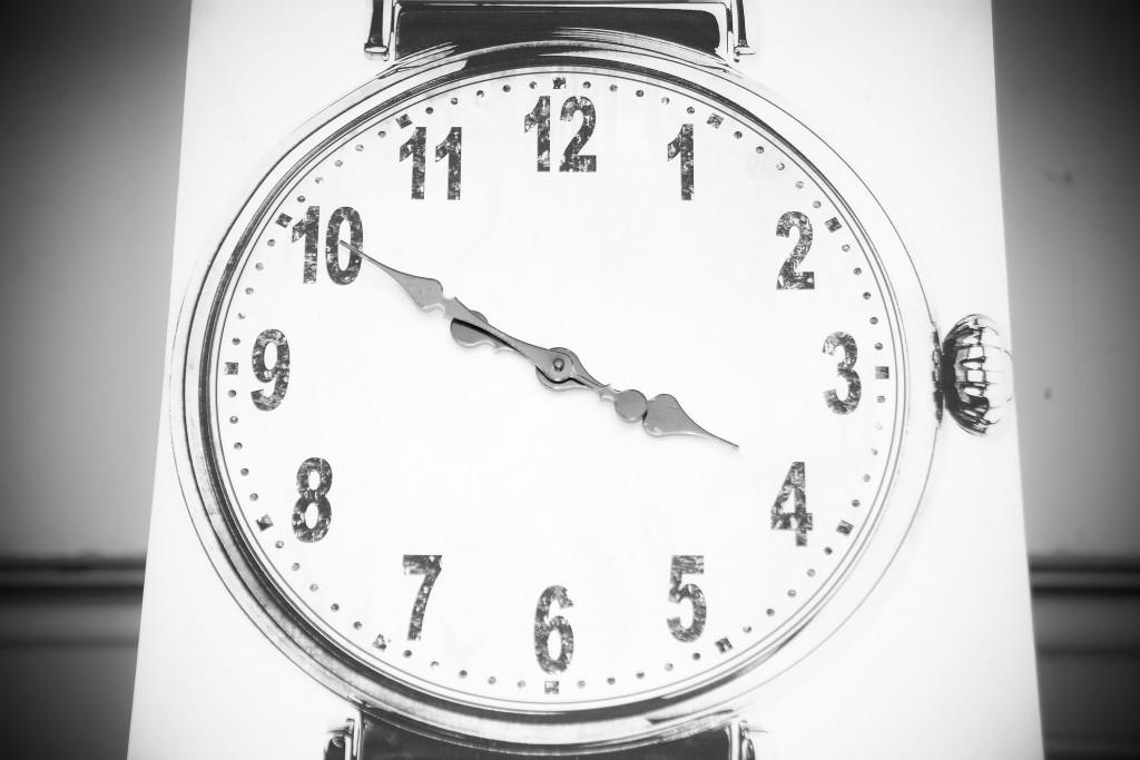 アンティークが漂う掛け時計