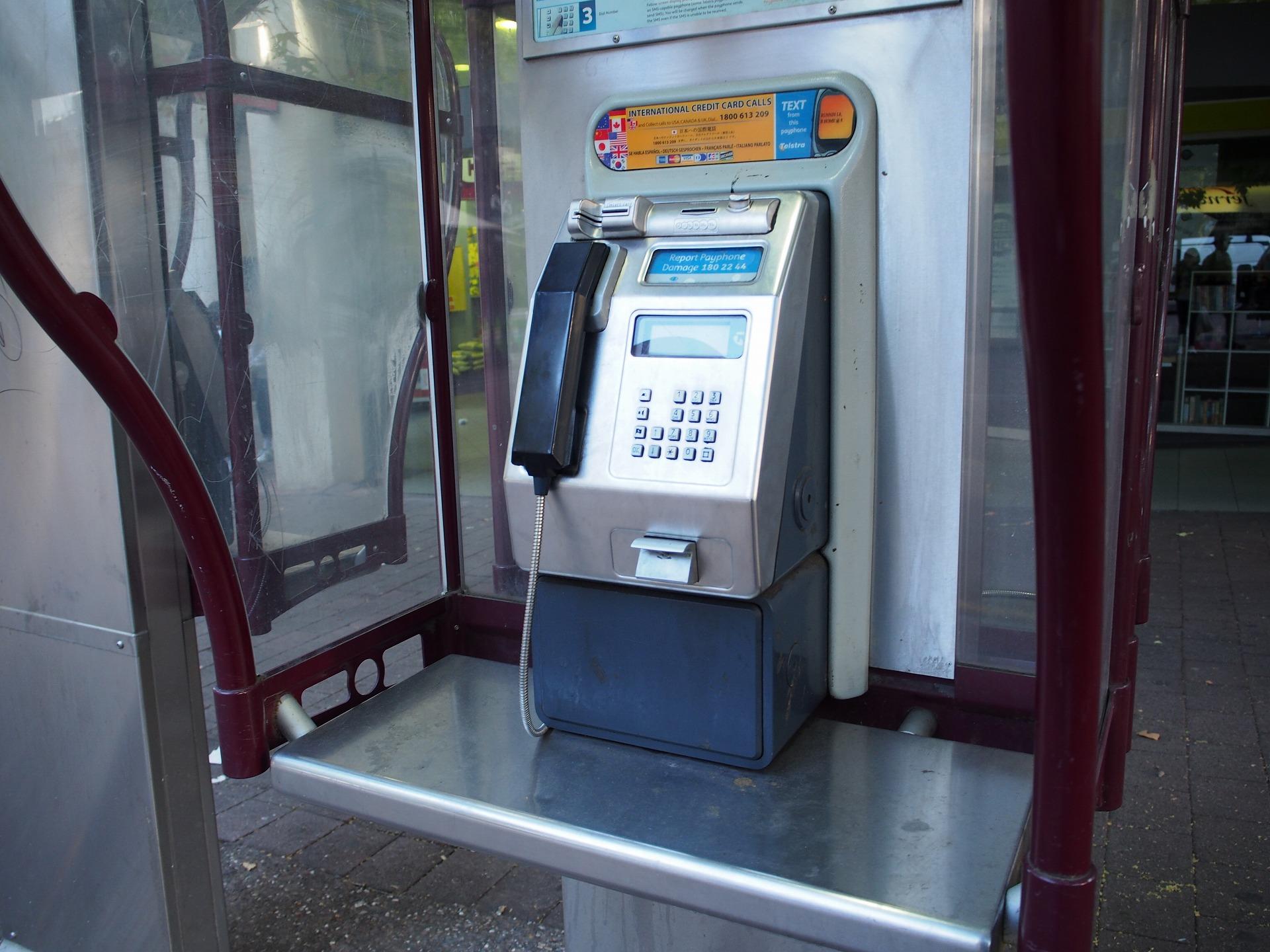 オーストラリアの公衆電話