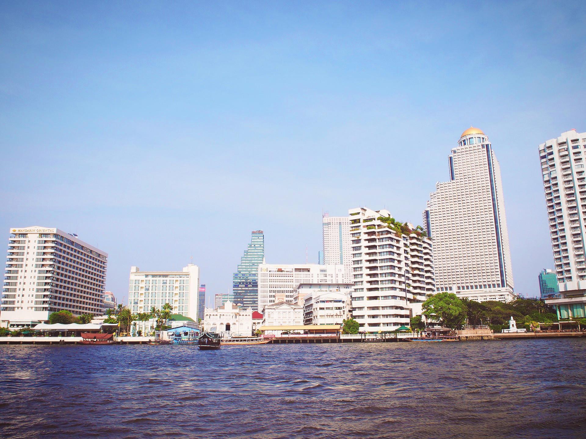 タイ王国バンコクの風景