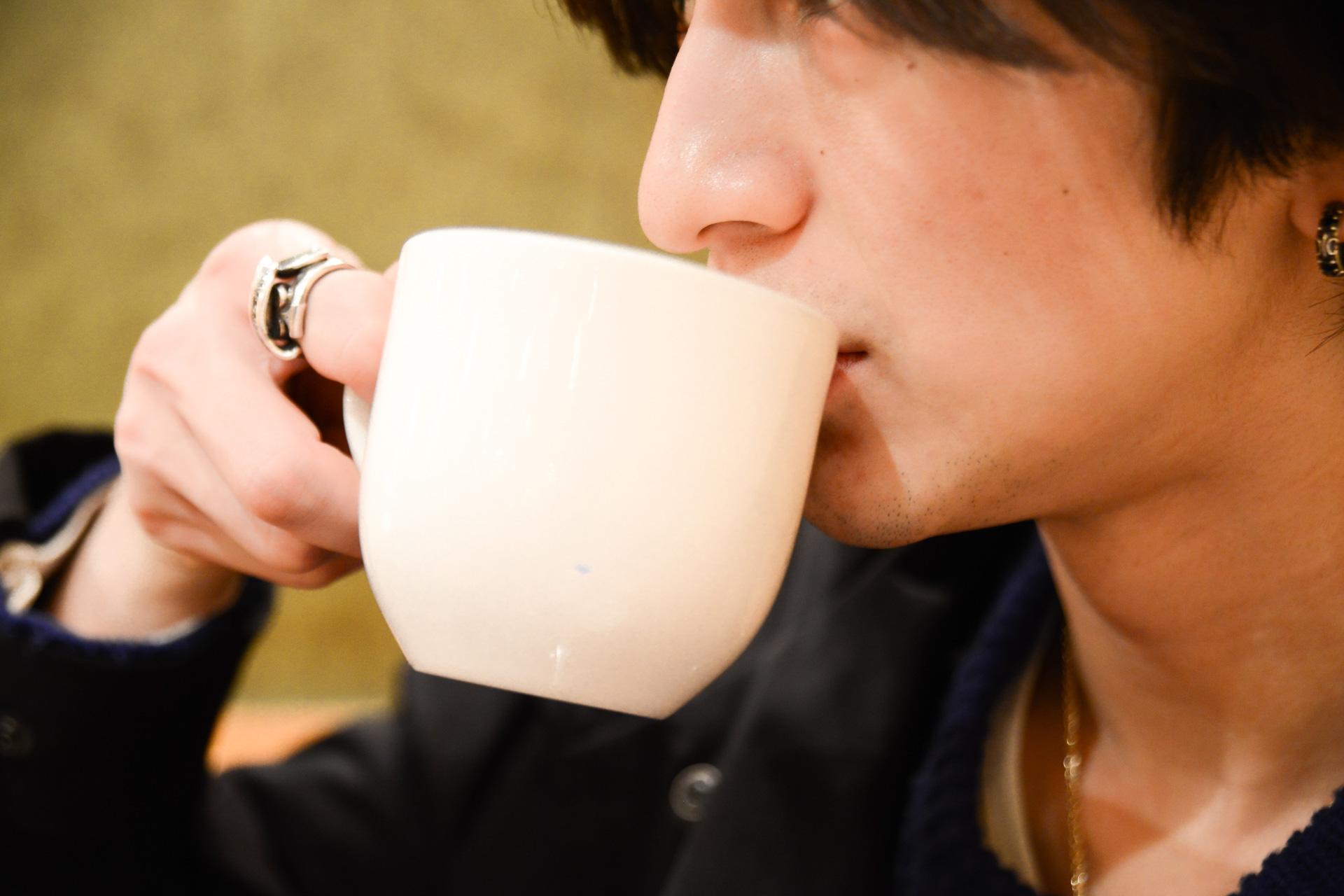 コーヒーで心も体も温める