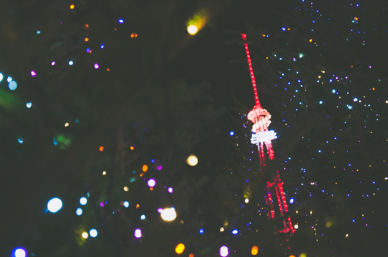 メリークリスマスな季節が漂う夜景