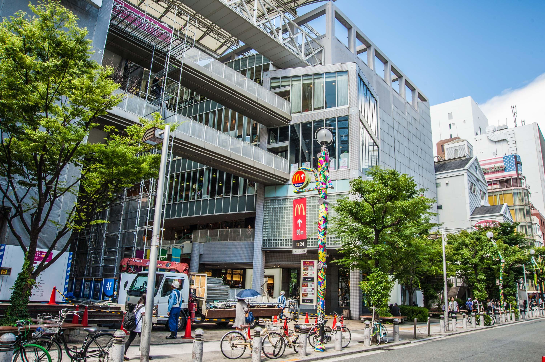 開発され続ける大阪の繁華街