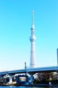 東京一高いスカイツリー