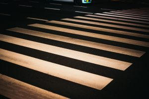 横断歩道の白線