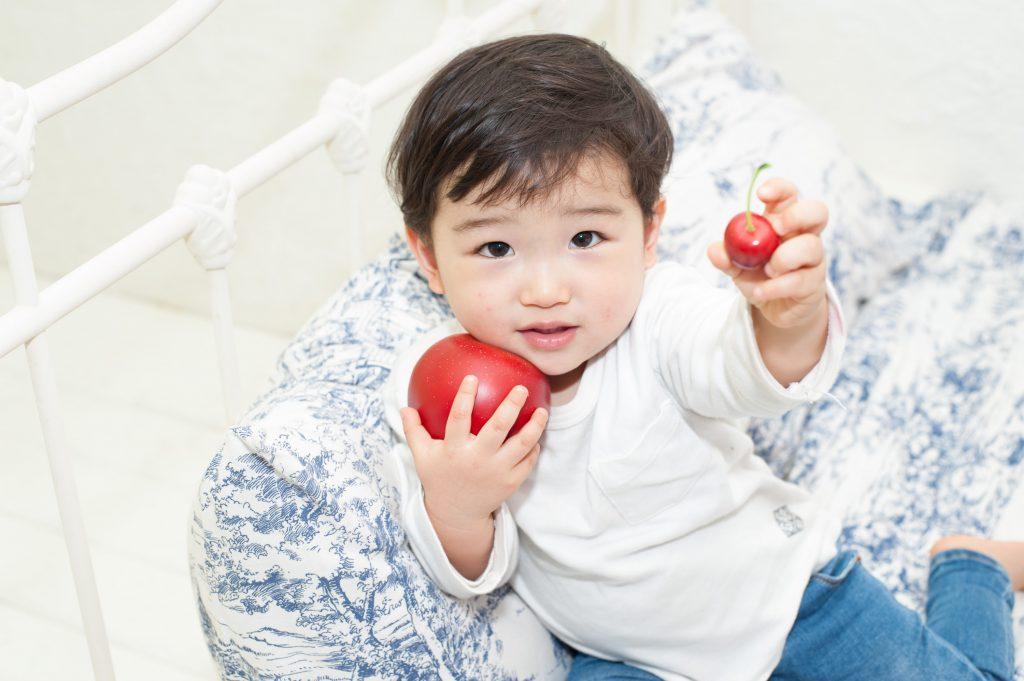 りんごとさくらんぼどっちがいい?
