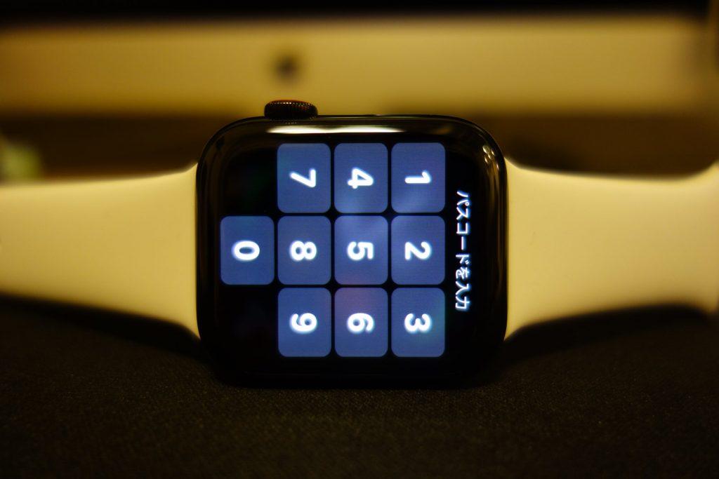 ロックされているApple Watch