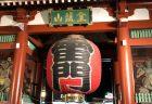 浅草寺境内前の入口の雷門(風雷神門)